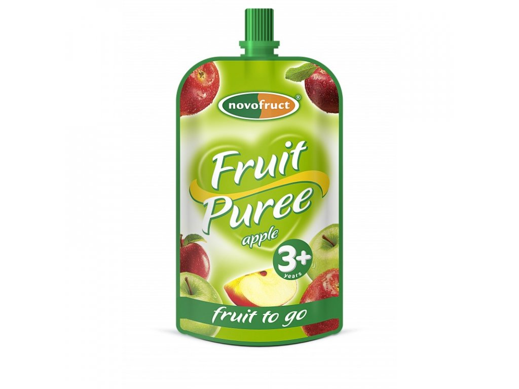 fruit puree jablkove po 120 g 10